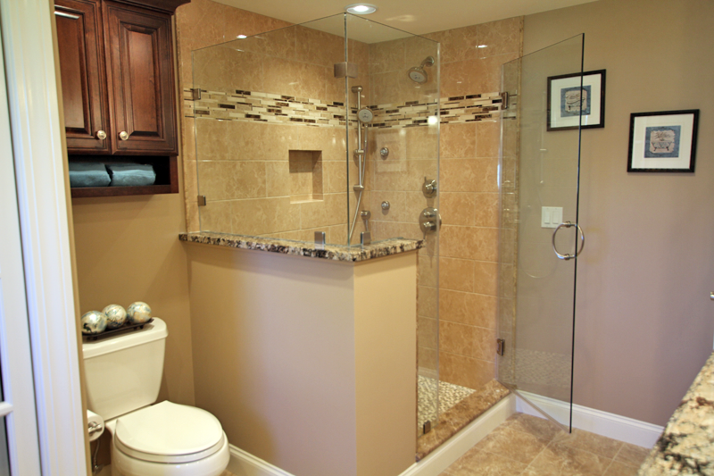 Custom Shower Glass - Shower Glass - Commercial Glass Service